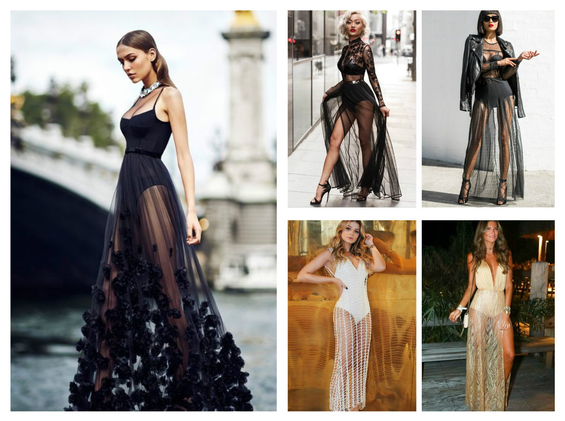 e7b64e0b3c5 Как правильно носить прозрачные платья в 2018  - «Stella Ricci»