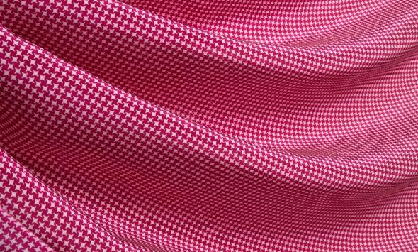 Шелк принт пепита 211/tx178 - Фото
