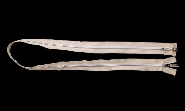 Молния №3 с двумя бегунками 191/v8-38 - Фото