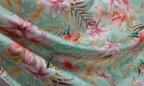купить Штапель принтованный цветы 211/mr845